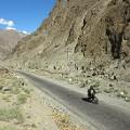 Pakistan motorcycle girl8Karakoram Highway in Skardu
