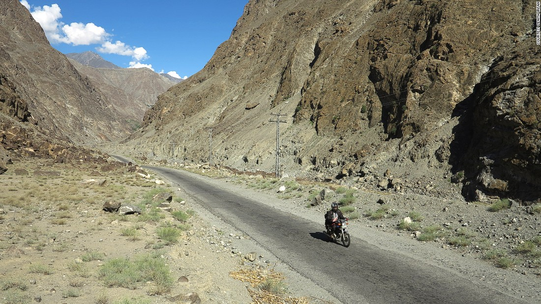 The Karakoram Highway in Skardu connects China's Xinjiang Uyghur Autonomous Region with Pakistan's Gilgit-Baltistan region.