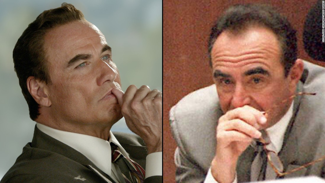 <strong>John Travolta</strong>, the cast's biggest star, portrays defense lawyer <strong>Robert Shapiro</strong>, a key member of Simpson's legal team.