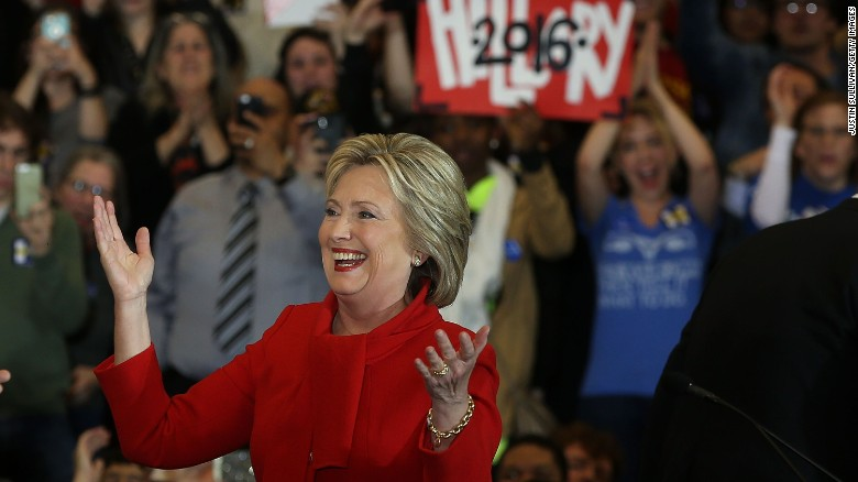Hillary Clinton wins Iowa caucuses