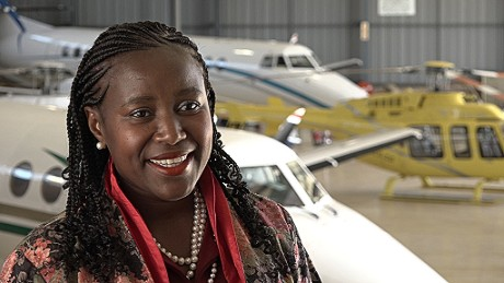 SRS Aviation founder Sibongile Sambo