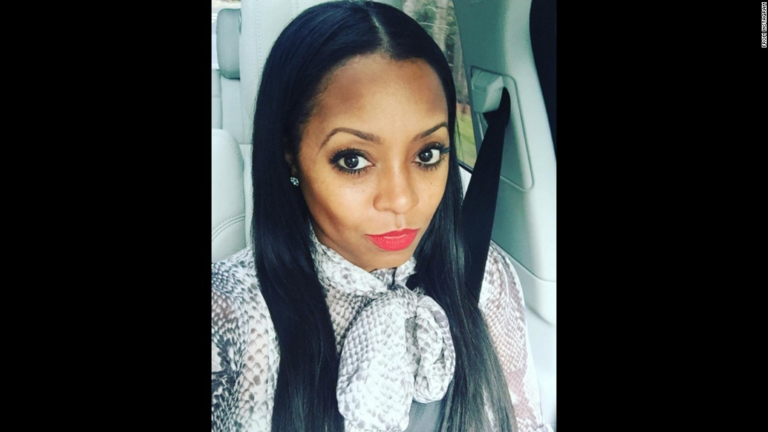 "Actress Keshia Knight Pulliam <a href=""https://www.instagram.com/p/BBDFw_-Srvh/"" target=""_blank"">takes a selfie</a> before speaking about school choice at the Georgia State Capitol on Wednesday, January 27."