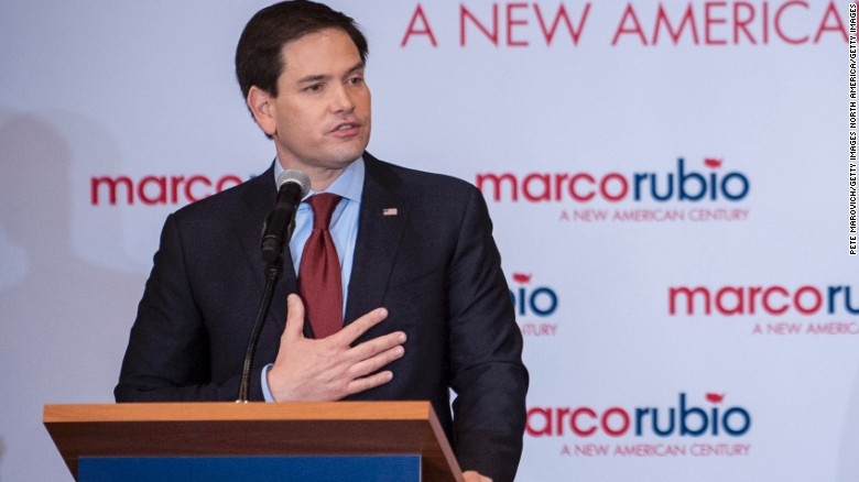 Marco Rubio's campaign trail playlist