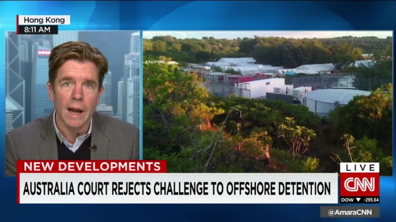 Aussie court rejects offshore detention challenge