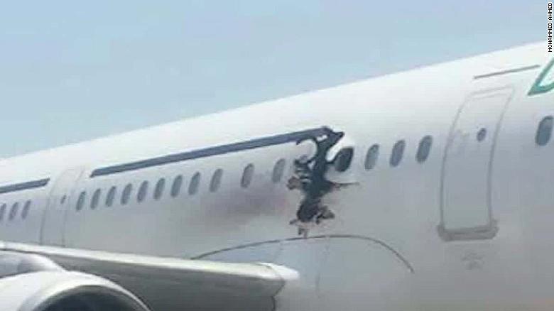 Somalia airplane explosion es_00021315