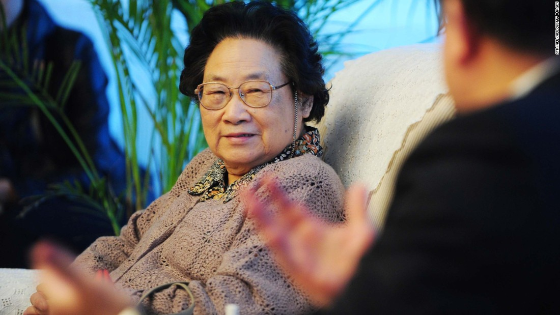 Tu Youyou, born in 1930, is a Chinese pharmaceutical chemist and teacher. She is most well-known for discovering artemisinin and dihydroartemisinin. These drugs were used to treat malaria and have saved millions of lives. In 2015, she was awarded the Nobel Prize in Physiology or Medicine with William C. Campbell and Satoshi Ōmura for her work.