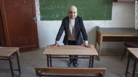 Syrian girls dream of a bright future