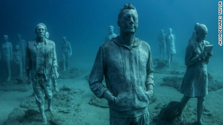 Constructing Europe's first underwater museum