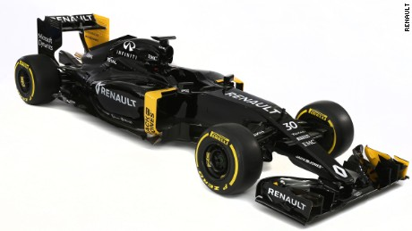 Back in black: Renault returns to F1