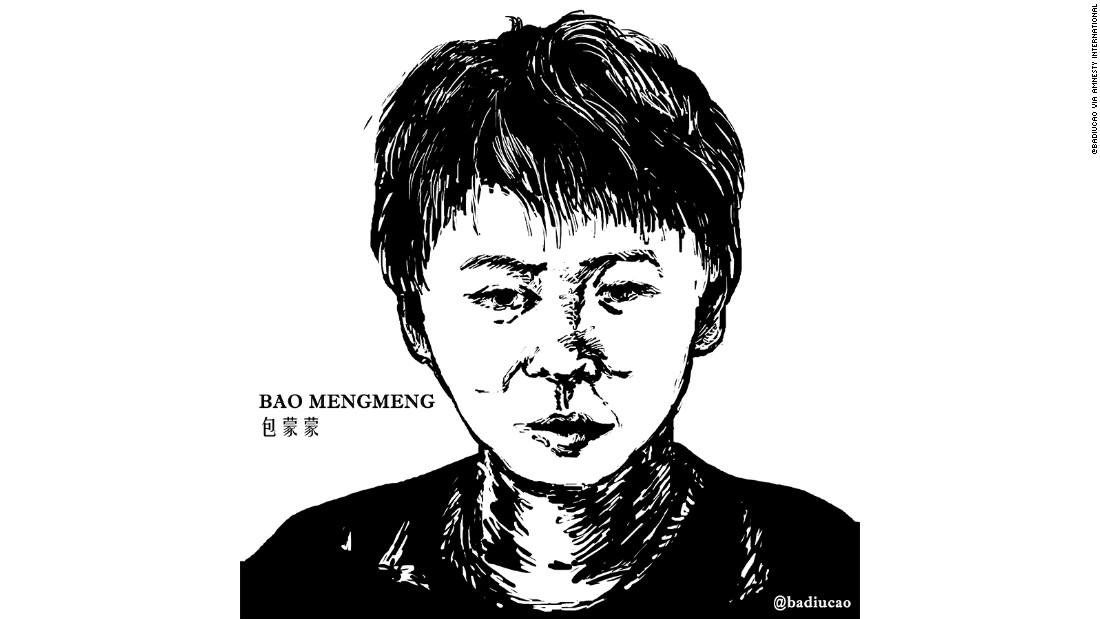 A 16-year-old student, Bao fled China after the detention of his parents in a government crackdown on human rights lawyers. Amnesty International says he and his traveling companions were picked up in the Myanmar border town of Mong La on October 6 and returned to China. Rights groups say he is now under house arrest at his grandparents' house in Inner Mongolia. Chinese state media denied reports the boy has been threatened or harassed and said he is enrolled in local school.
