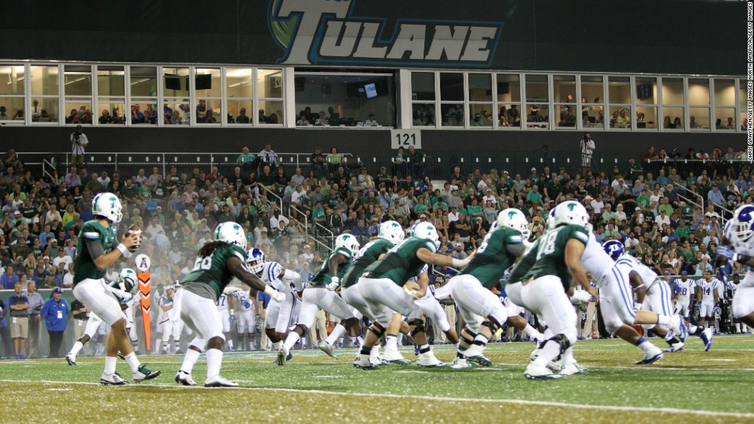 In 2014, Tulane opened  Yulman Stadium to host its Green Wave football team. It was the first time the team had played on campus since leaving Tulane Stadium 40 years earlier.