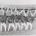 Tulane Stadium cheerleaders