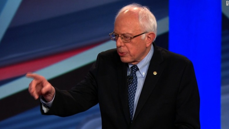 Bernie Sanders: I respect Hillary Clinton, but ...