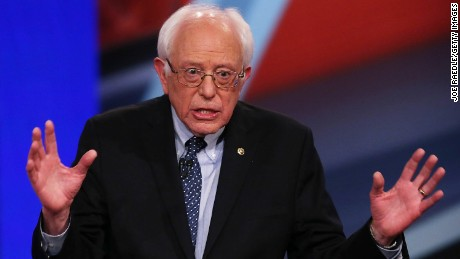 Sanders: I want Trump to win the Republican nomination