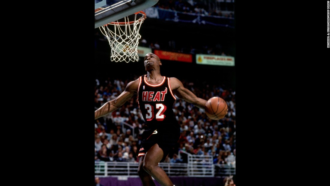 "The 6-foot-5 rookie was nicknamed ""Baby Jordan,"" but his powerful dunks might have been more reminiscent of Dominique. He rocked the rim with a vicious tomahawk and a double-pump reverse on his way to the title."