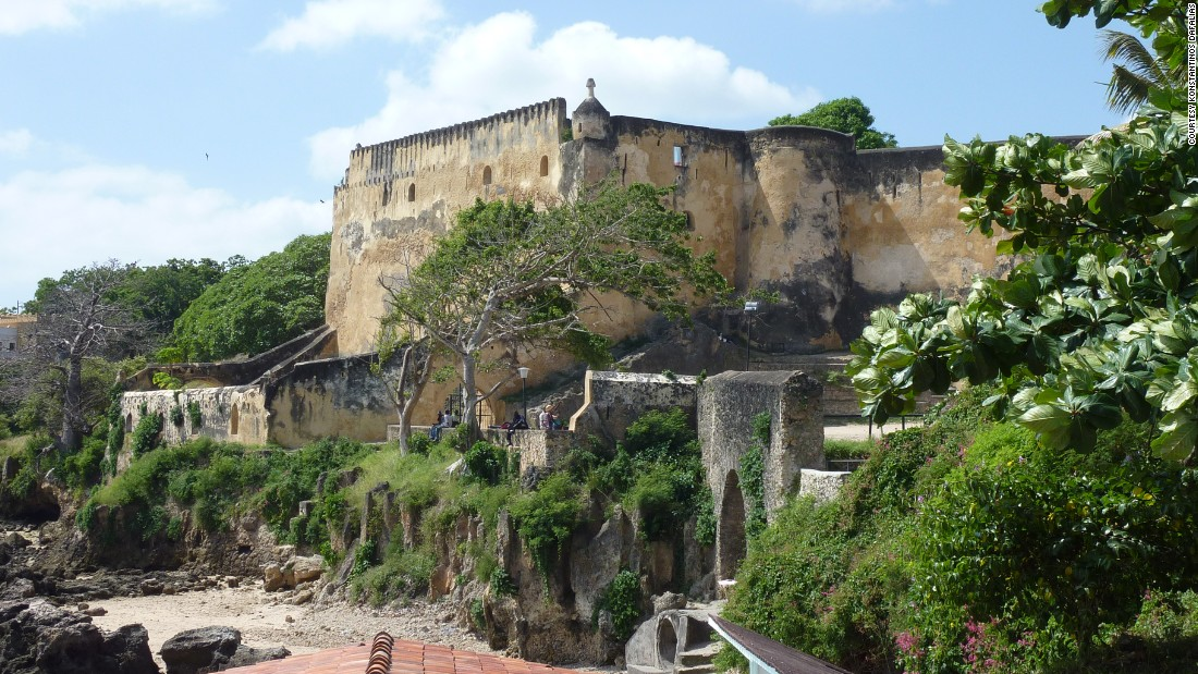 Built by the Portuguese and lost to the Omanis, today Fort Jesus is among the most recognizable monuments along the Swahili coast. Despite it's colonial design (and use), it still has one feature quintessentially Swahili: it's built from Coral.