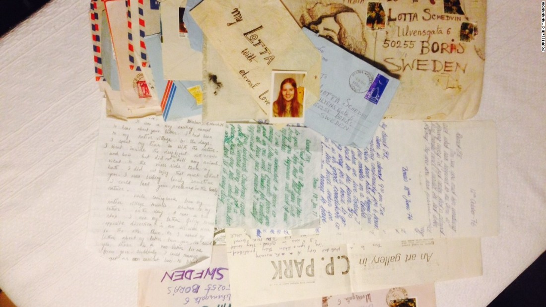 """They would get out a container with the letter of your last name, where there would be hundreds of thousands of letters,"" said Mahanandia. ""It would take a few hours to pick up my own letters!"""