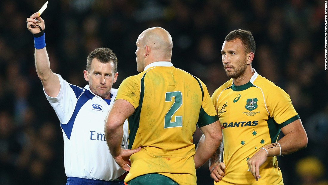 Cooper didn't help his World Cup chances when he was yellow-carded in a crushing defeat against the All Blacks in a Bledisloe Cup match in Auckland in August 2015.
