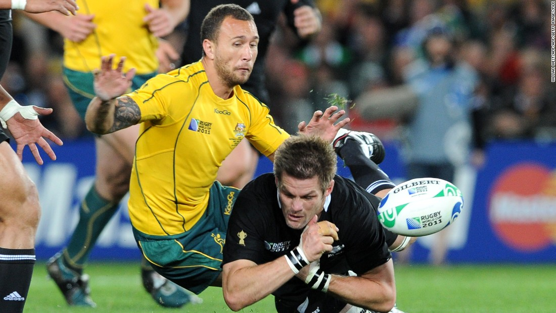 He was not part of the Wallabies team that lost the 2015 World Cup final against New Zealand, and suffered disappointment four years earlier in the semis against the same opposition. Cooper feuded with Richie McCaw after kneeing the All Blacks skipper in the head during a pre-World Cup game.