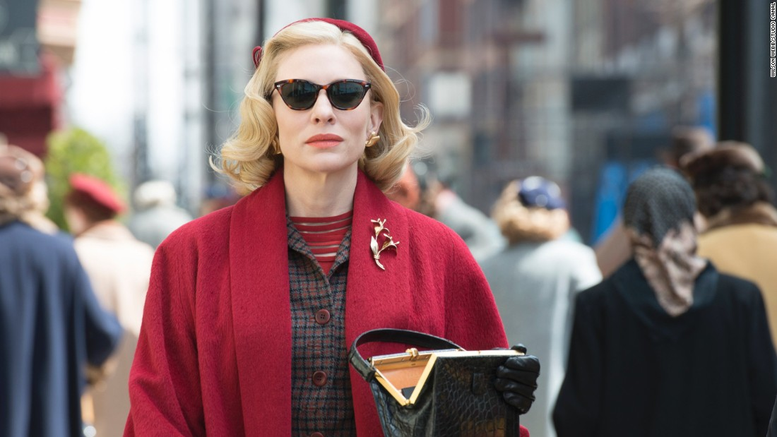 "Costume designer Sandy Powell is in the running for her fourth Academy Award for her work in ""Carol,"" in which costume met fashion with the well-heeled Carol Aird (Cate Blanchett). Set in the winter of 1952, Powell drew on specific editions of Vogue and Harper's Bazaar as inspiration for the on-trend socialite."