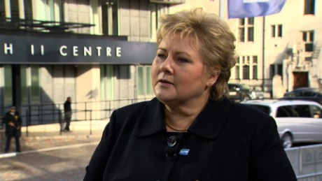Norwegian Prime Minister Erna Solberg: 'There is no free entry' to Europe