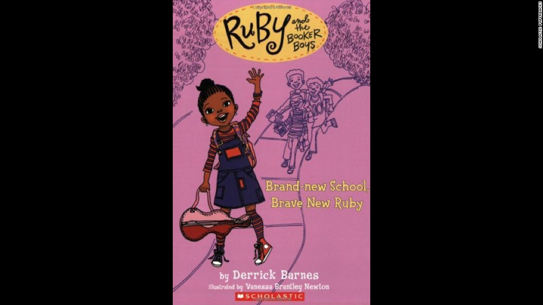 "Derrick Barnes' ""Ruby and the Booker Boys"" series tells of 8-year-old Ruby Booker, the baby sister of the most popular boys on Chill Brook Avenue."