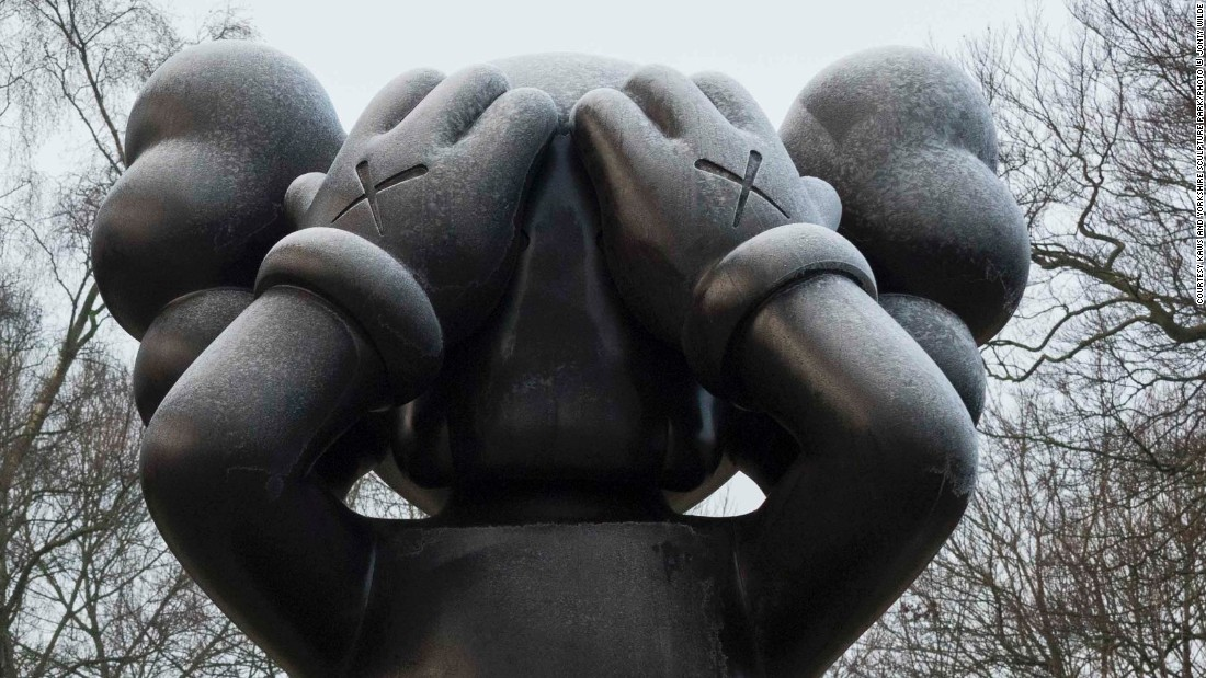 This year, KAWS and his army of cartoon giants invaded the Yorkshire Sculpture Park.