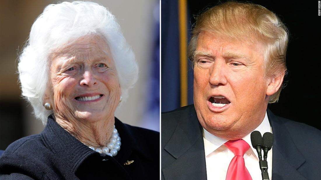 ... Bush isn't 'getting in a spitting match' with Trump - CNNPolitics.com