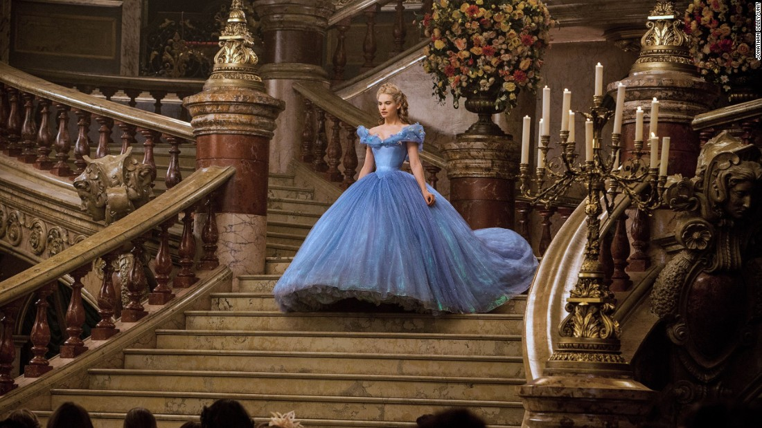"Powell holds two nominations for Best Costume Design at this year's Academy Awards. The other is for ""Cinderella"" -- in which she also dressed Cate Blanchett. The designer and her team created eight versions of Cinderella's (Lily James) ball gown, using four miles of thread and 80 meters of fabric per dress."