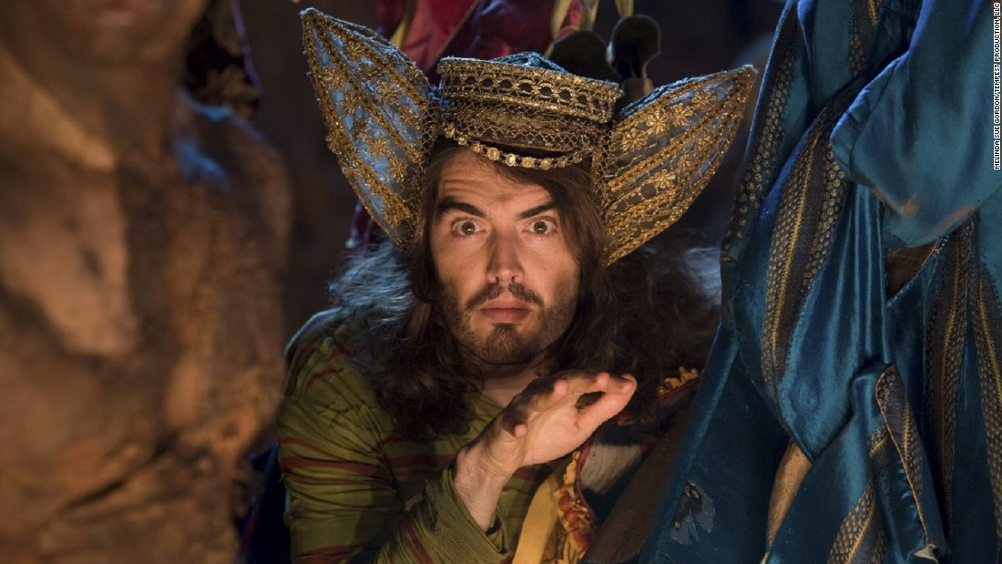 "Directed by Julie Taymor, 2010's version of Shakespeare's ""The Tempest"" cast Helen Mirren as Prospero, with Powell dressing Russel Brand as fool Trinculo."