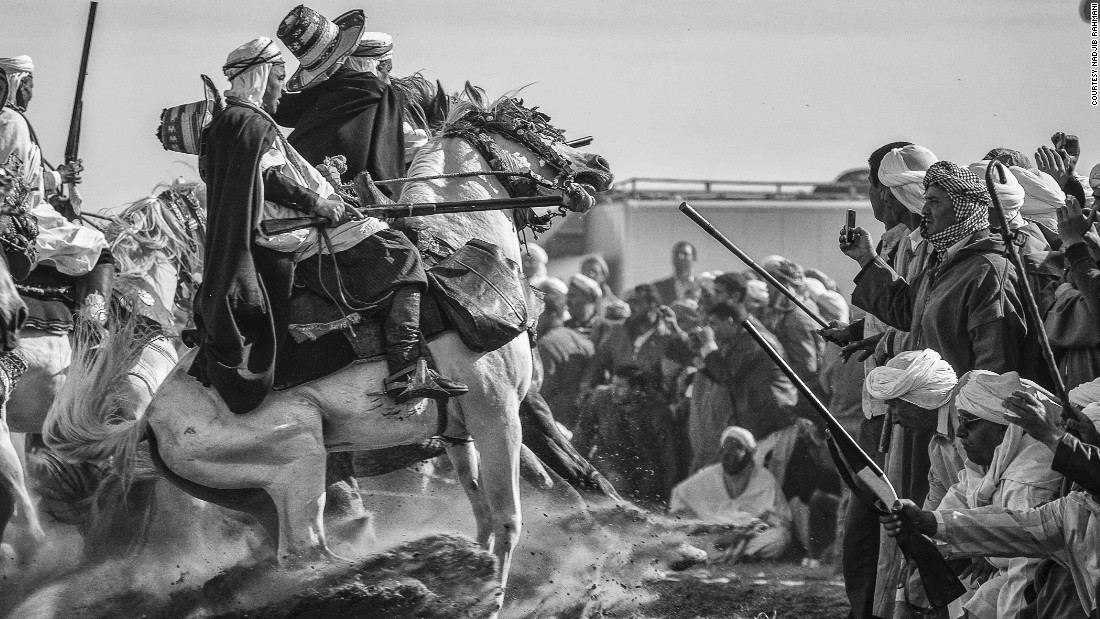 """Algeria and the Maghreb in particular have a strong equestrian culture -- the tradition is passed from father to son for generations,"" the 38-year-old photographer says."