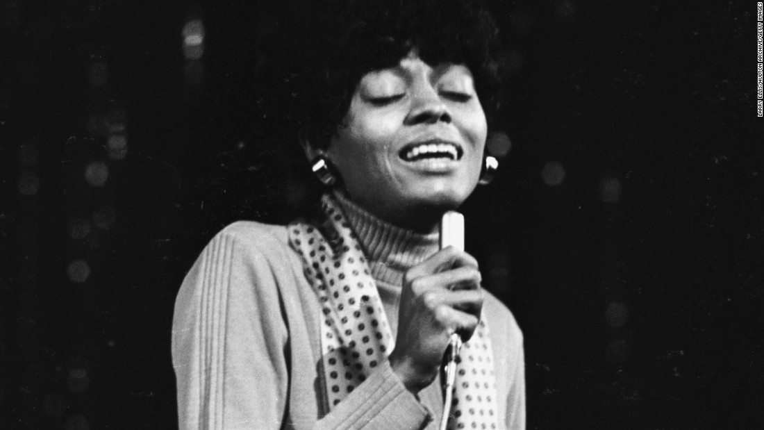 "Few female singers of the late 20th century sang about love better than <strong>Diana Ross</strong>. As the lead voice of Motown girl group the Supremes, she had big hits with ""Stop! In the Name of Love,"" ""You Keep Me Hanging On,"" ""I Hear a Symphony,"" ""Someday We'll Be Together"" and ""My World is Empty Without You."" After launching a solo career she topped the charts again with ""Ain't No Mountain High Enough"" and ""Endless Love,"" her smash 1981 duet with Lionel Richie."