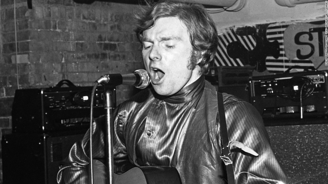 "British singer-songwriter <strong>Van Morrison</strong> charmed audiences on both sides of the the Atlantic with such lovestruck tunes as ""Crazy Love,"" ""Into the Mystic"" and ""Sweet Thing."" His tender classic, ""Have I Told You Lately (That I Love You)"" has been widely covered. Here he is performing in New York City in 1969."