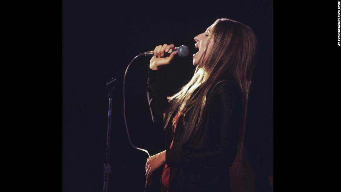 "The multitalented <strong>Barbra Streisand</strong> has had huge success as a singer, an actress and a filmmaker. In the 1970s she had a string of big,  unabashedly sappy hits (many from her movies), including ""The Way We Were,"" ""Evergreen (Love Theme From 'A Star is Born')"" and ""You Don't Bring Me Flowers,"" her duet with Neil Diamond."