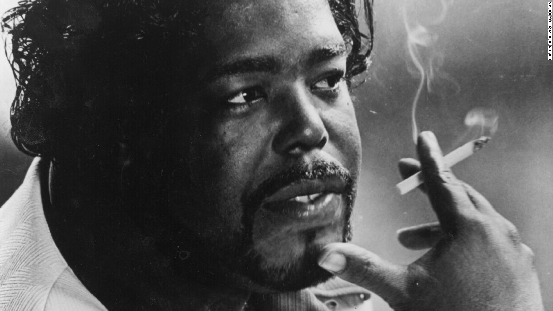 "The deep seductive purr of <strong>Barry White</strong> (1944-2003) powered such '70s love songs as ""Can't get Enough of Your Love,"" ""Never, Never Gonna Give Ya Up"" and ""You're The First, The Last, My Everything."""