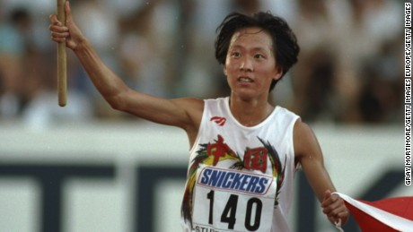 Journalist Zhao Yu says Chinese Olympic runner Wang Junxia is among the letter's signatories.