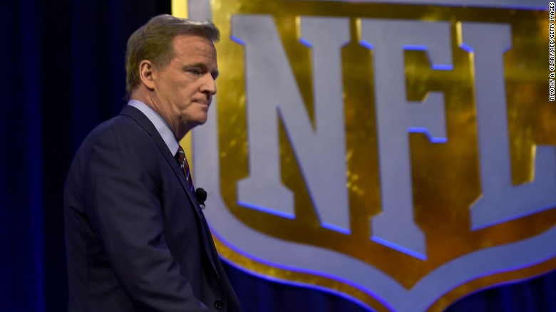 Roger Goodell's pay cut revealed