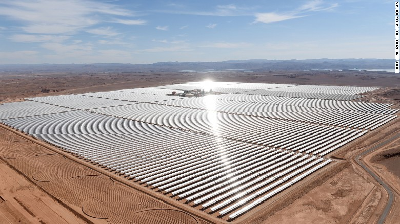 Photo: Morocco bets on solar power