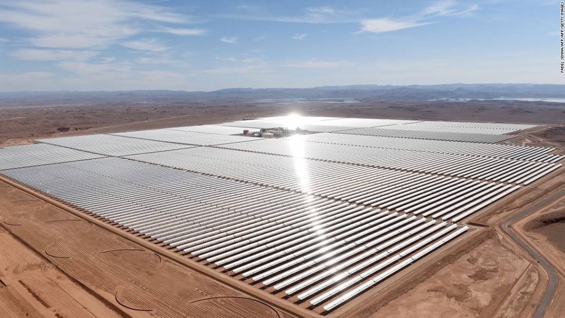 The second phase of the world's largest concentrated solar power plant in Morocco will be completed in 2017.
