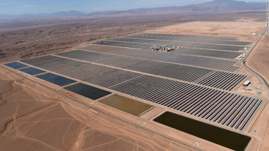 World S Largest Concentrated Solar Plant Opens Cnn Com