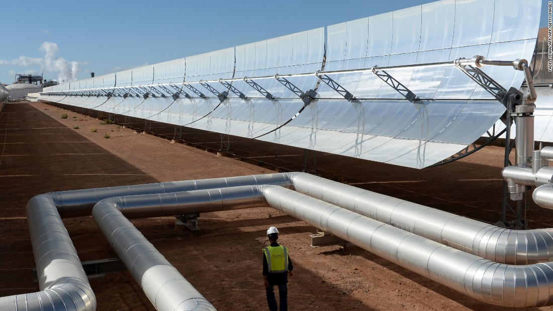 world u0026 39 s largest concentrated solar plant opens