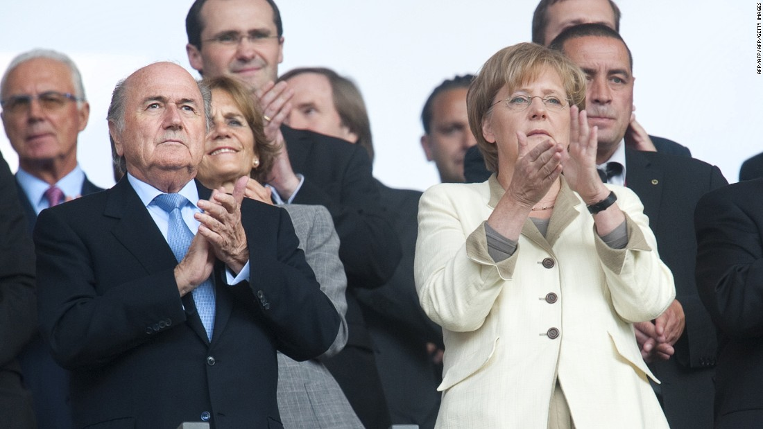 "German Chancellor Angela Merkel would make a fine leader of FIFA, claims political journalist Karsten Kammholz of German newspaper Die Welt. He believes Mrs Merkel, who took charge of her country in 2005, would wipe away corruption and perhaps ensure the World Cup went to traditional football powerhouses -- as opposed to 2022 hosts Qatar, where the intense heat is forcing the tournament to be rescheduled from June-July to December. ""With her in charge, FIFA could become a well-esteemed sports organization where people discuss and argue under democratic standards,"" Kammholz told CNN. ""Probably, FIFA wouldn't make that much money under Merkel, but still enough to keep it as one of the most powerful sports organizations in the world. And World Cups would only take place in summer and only in countries that clearly have a football-loving audience."""