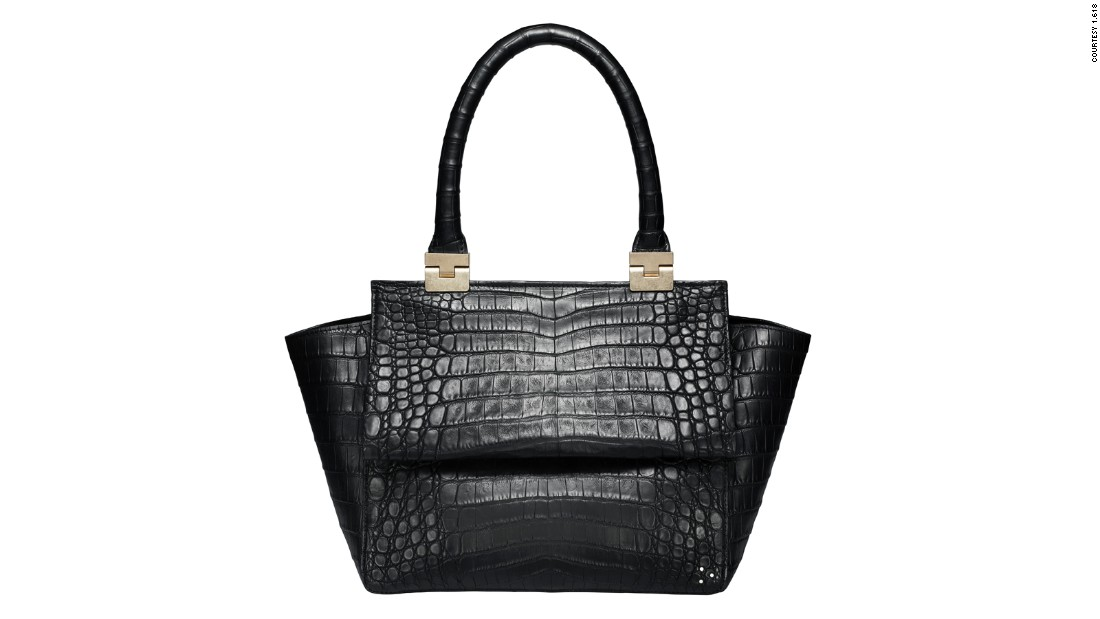 """Highlighting the know-how of its craftsmen, <a href=""http://www.solantu.com/"" target=""_blank"">Solantu</a> is an Argentinian brand of caiman (small alligator-like animals) leather goods. They exclusively source the skins from their own farm, supported by the Species Survival Commission, and contribute to the species' management."""
