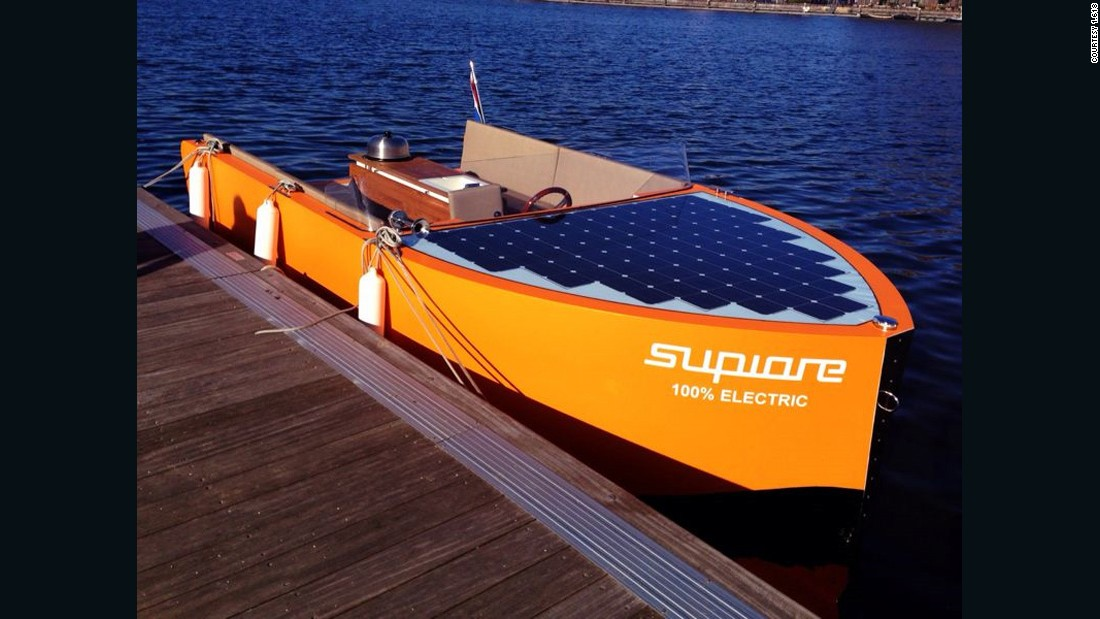 """As the boat industry is very polluting, it's rare to find sustainable alternatives. <a href=""http://supiore.com/"" target=""_blank"">The Supiore company</a> produces, designs and innovates their boats in Holland. The boats are made with love of true craftsmanship, of recyclable wood and other environmental friendly products, so the environmental impact is extremely low. (They also use solar panels and the batteries are 100% recyclable.) The beauty of the Supiore is impressive, they won the 1.618 Sustainable Luxury Award in 2014!""<br />"
