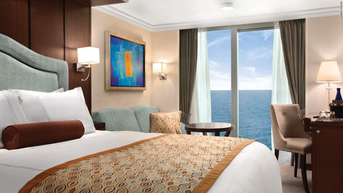 "Three Oceania ships won five awards, including three for the Oceania Riviera, which won for ""best cabins,"" ""best public rooms"" and ""best fitness and recreation"" in the midsize category."