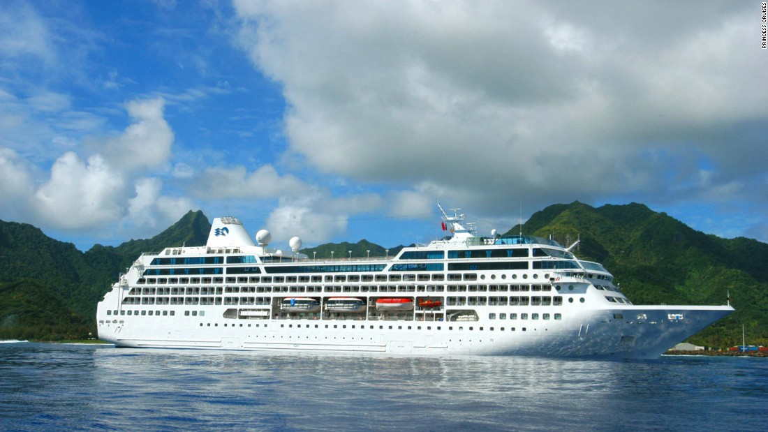"The Pacific Princess won for ""best entertainment"" in the small ship category."