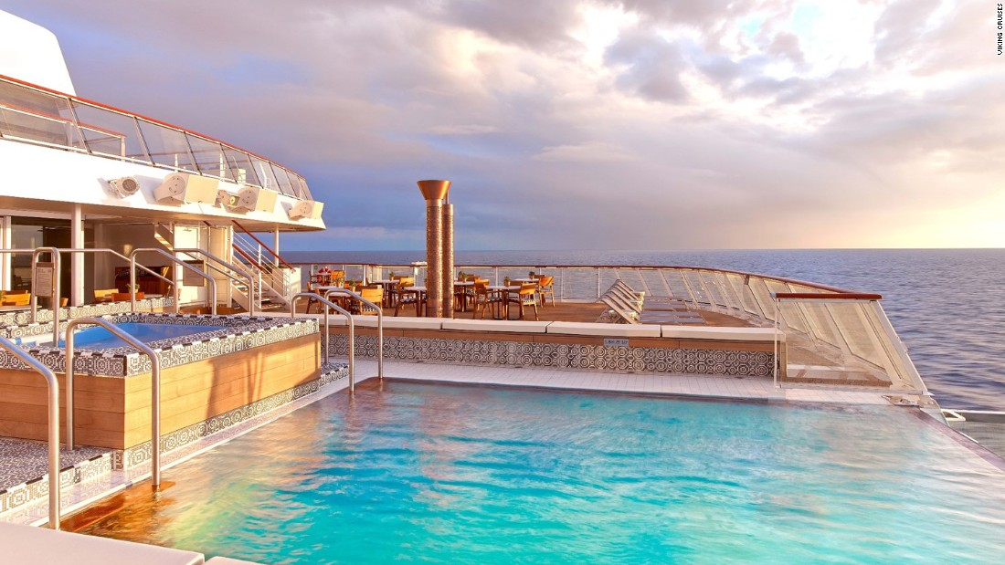 "Viking Star, a new ship, won for ""best cruises for first timers"" and ""best public rooms."""