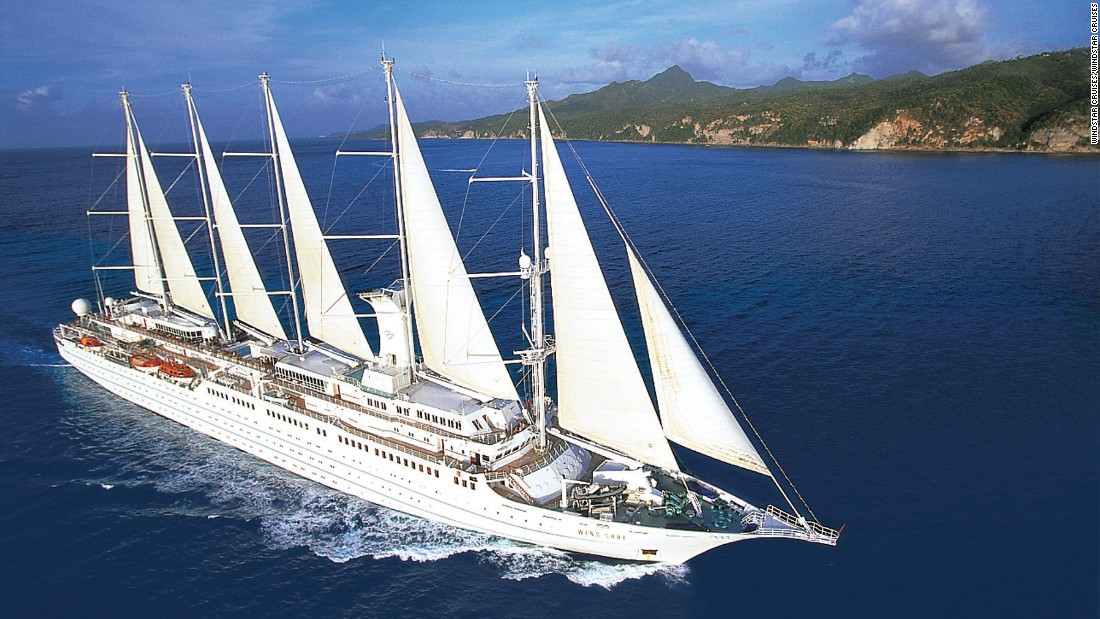 "Windstar Wind Surf won for ""best embarkation"" in the small ship category."