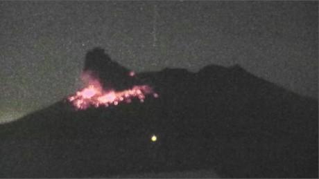 Japan Volcano Eruption VO_00003717