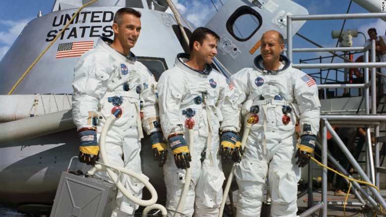Apollo 10 astronauts heard space music